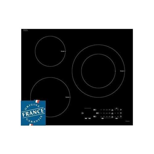 Sauter SPI6361B - Table de cuisson à induction - 3 plaques de cuisson - Niche - largeur : 56 cm - profondeur : 49 cm - noir