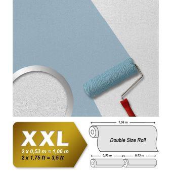 Papier Peint Blanc Non Tissé Edem 357 60 à Peindre Texturé