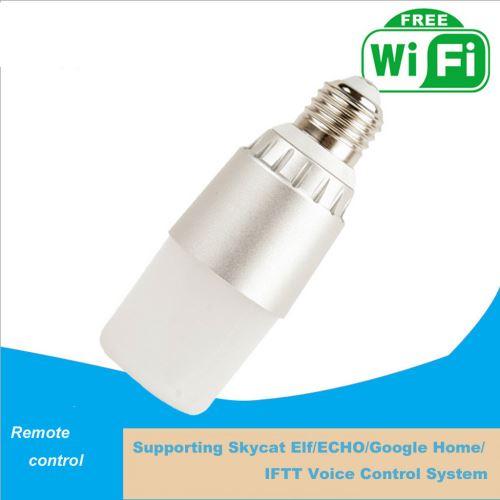 Ampoule WIFI intelligent E27 RGBWC Pour Echo Pour Goolehome Pour ifttt Voice System