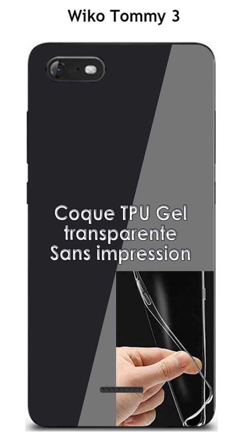 Coque Wiko Tommy 3 Transparente (TPU Gel souple)