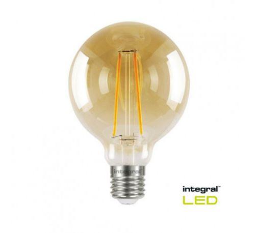 Ampoule globe g95 vintage claire ambré 2,5w 19w 1800k e27