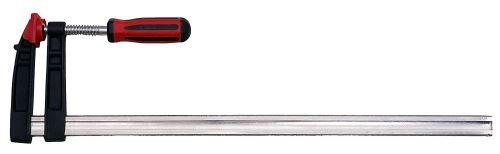 Connex COX867600 Serre-joint avec manche 2-composants, Argent/noir/rouge, 600 x 120 mm