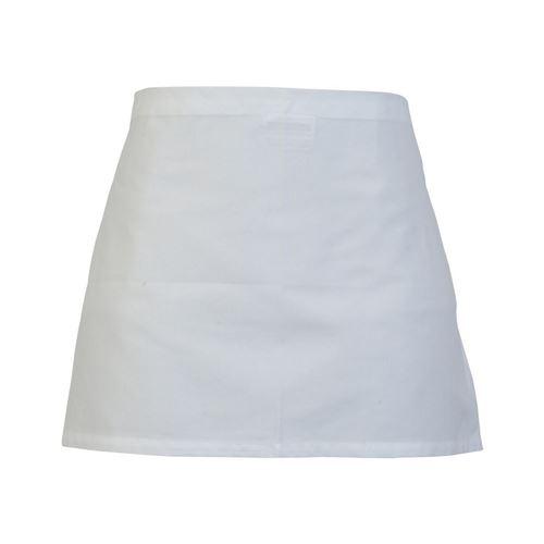 Absolute Apparel - Tablier de cuisine taille (Taille unique) (Blanc) - UTAB145