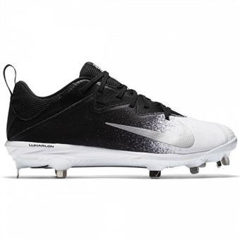 on feet images of limited guantity look for Crampons de Baseball métal Nike Lunar Vapor UltraFly Low Noir Blanc Pour  Homme Pointure - 42