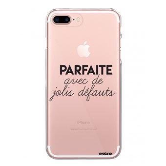 coque iphone 7 plus transparente motif