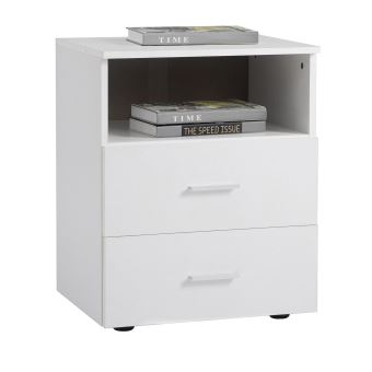 nuit MERKUR 1 casier de tiroirs table 2 de chevet avec Table TF3lJ1cK
