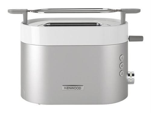 Kenwood K-Sense TCM401TT - grille-pain - blanc/argent