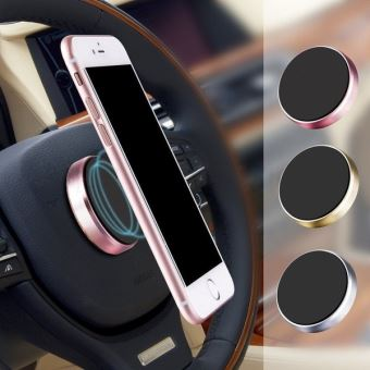 latest performance sportswear arriving Support Voiture Collant Plat Magnetique pour Telephone Smartphone Aimant  Universel