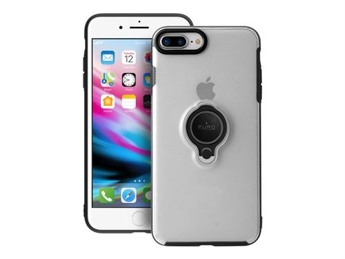 coque iphone 8 plus avec anneau transparent