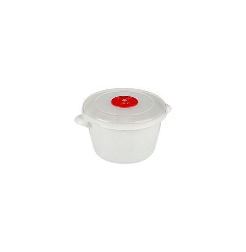 Boite de Conservation Micro-ondes 1,5L Blanc