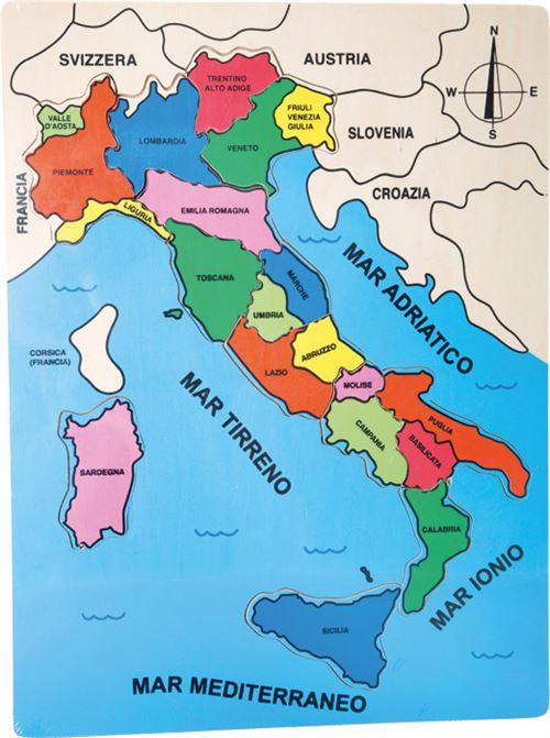Puzzle Regions D Italie Autre Puzzle Achat Prix Fnac