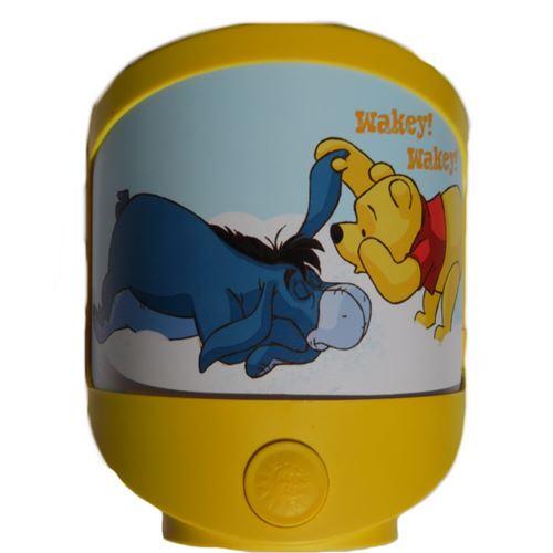 Lampe veilleuse Disney Winnie l'Ourson Bourriquet enfant bébé, pile ou adaptateur