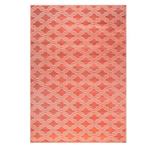 Tapis à motifs 160X230cm Feike - Couleur - Rose
