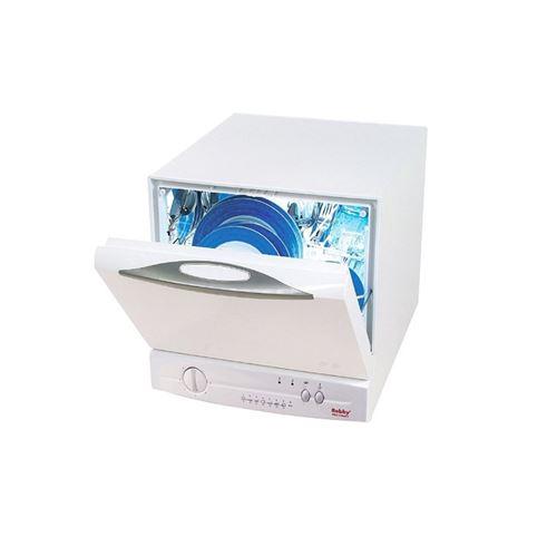 lave-vaisselle compact et rapide / 4 couverts / eco a+ / pose-libre / 7 programmes - mini clean +