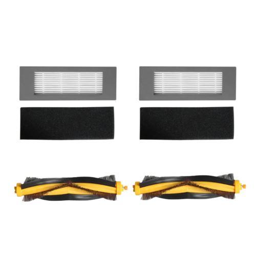 Filtre et Bristle Brosse de rechange pour ECOVACS DEEBOT OZMO 610 Aspirateur