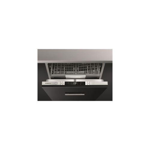 De Dietrich DV91542J - Lave-vaisselle - intégrable - Niche - largeur : 60 cm - profondeur : 58 cm - hauteur : 82 cm - inox/noir
