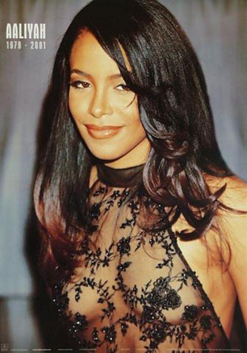 Aaliyah Poster See Thru 91x61 cm