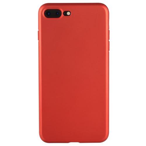 coque iphone 7 plus rouge mat