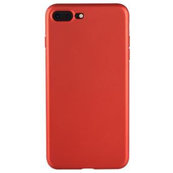 coque iphone 8 plus rouge mat