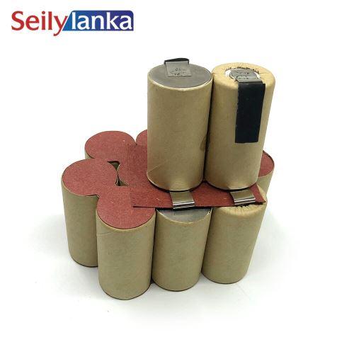 Batterie 3000mAh 14.4V Ni MH pour hanséatique H-ASA 14.4 H-AS 14.4E H-ASA14.4 H-AS14.4E