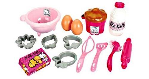 Jouet Dinette Patisserie Hello Kitty Accessoire Cuisine 17 Pieces