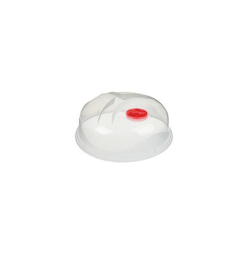 Couvercle Micro-Ondes Cloche 25cm Transparent