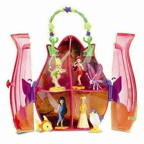 Playmates Toys Disney Fairies Sac à main Tiny Tink Friends - Fleur