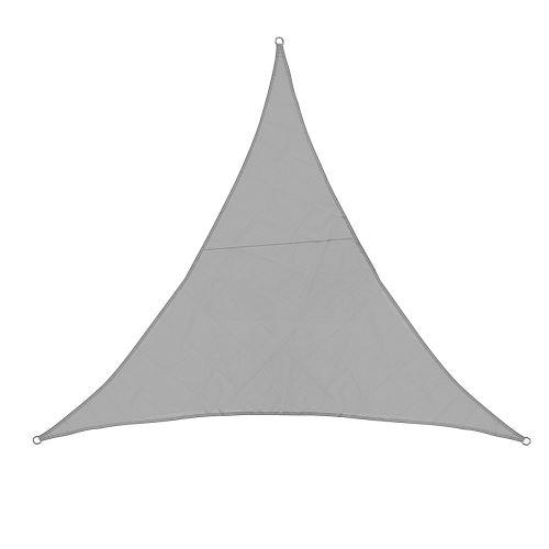 Voile pare-soleil améliorée étanche 420D Oxford Polyester Canopy gris