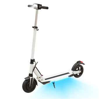 Pliable Électrique Scooter Electric Avec Kugoo App Blanc Trottinette 8PkXOnwN0