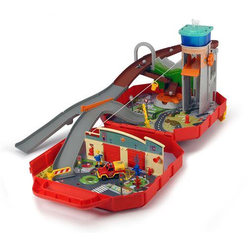 Dickie Toys 203095002 Ponty Pandy Sam Coffret Pompier Multicolore