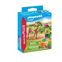Playmobil Special Plus 70060 Cavalière avec poney