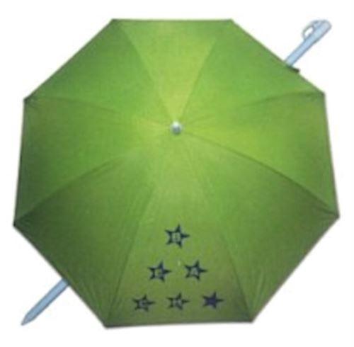 Pincho parapluie de plage 180 cm polyester vert résistant aux UV