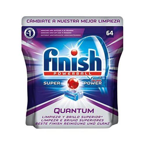 Pastilles pour Lave-Vaisselle Finish Quantum (64 Unit.)