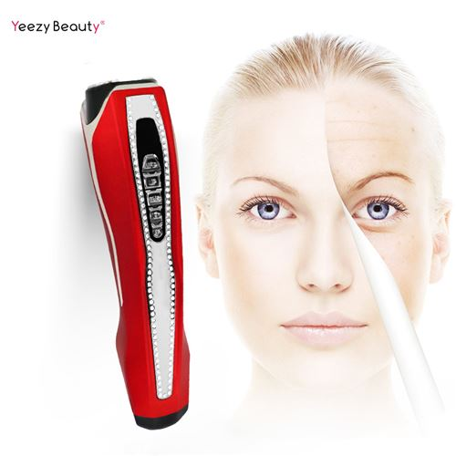 Appareil De Beauté Visage RF EMS Ultrason -rouge