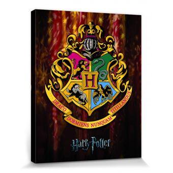 Harry Potter Poster Reproduction Sur Toile Tendue Sur Chassis