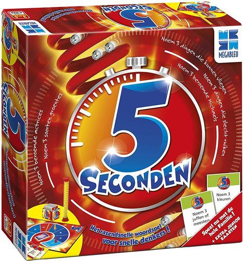 Megableu jeu de société 5 Seconds (NL)