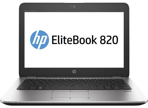 PC de bureau HP elitebook 820 g3 2.4ghz i5-6300u 12.5 1920 x 1080 noir, argent ordinateur portable -