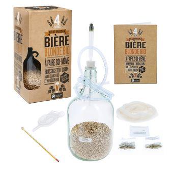 Kit de brassage : une bière bio maison ! - Pompe a bière - Achat