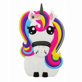 coque iphone 6 licorne en silicone