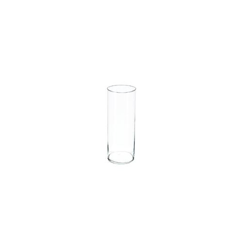Vase Cylindrique 40cm Transparent