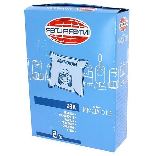 Sacs aspirateur par 5 microfibre pour Aspirateur Tornado