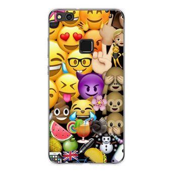 coque huawei p10 lite emoji