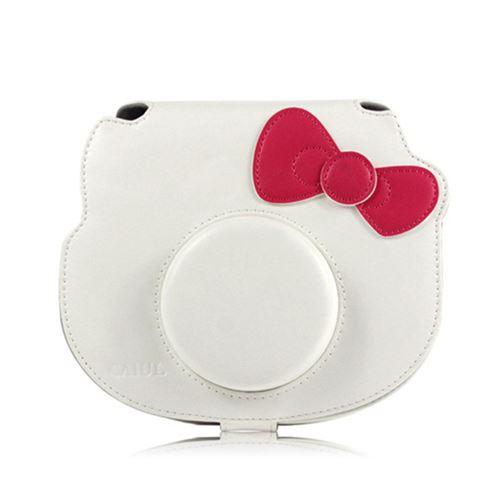Étui de protection antichoc pour Fujifilm Instax Mini Hello Kitty - Blanc