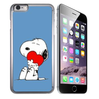 Coque pour iPhone 7 PLUS snoopy coeur