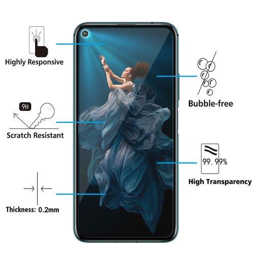 Ultra-r/ésistant Film de Protection /écran pour Huawei Honor 5C 1 Pi/èces Conber sans Bulles Verre Tremp/é pour Huawei Honor 5C, 9H Duret/é Haut D/éfinition