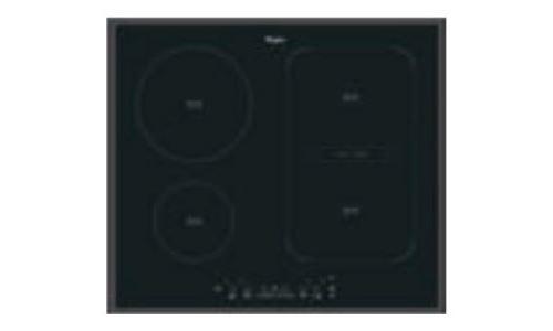 Whirlpool ACM 808/BA - Table de cuisson à induction - 4 plaques de cuisson - Niche - largeur : 56 cm - profondeur : 49 cm - noir