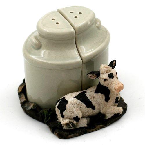 Saliere & Poivriere - Vache Noire et Blanche