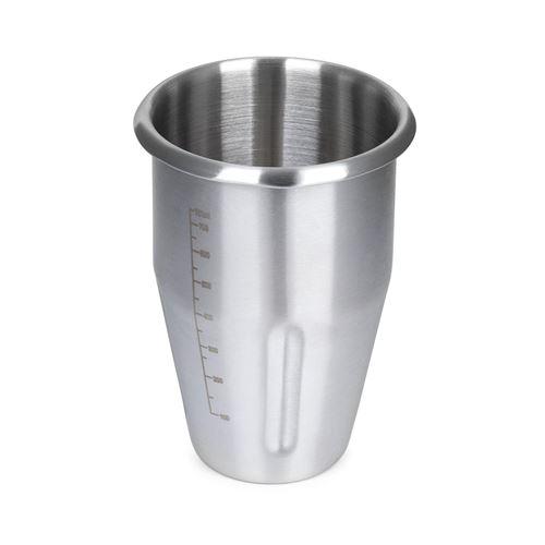 Klarstein Kraftpaket Pro Shaker 1 litre - Accessoire pour mixeur à boissons - Inox argent