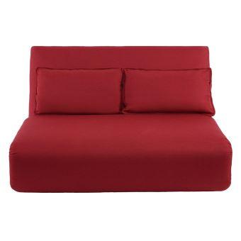 chauffeuse convertible 2 places design bordeaux sleeper achat prix fnac. Black Bedroom Furniture Sets. Home Design Ideas