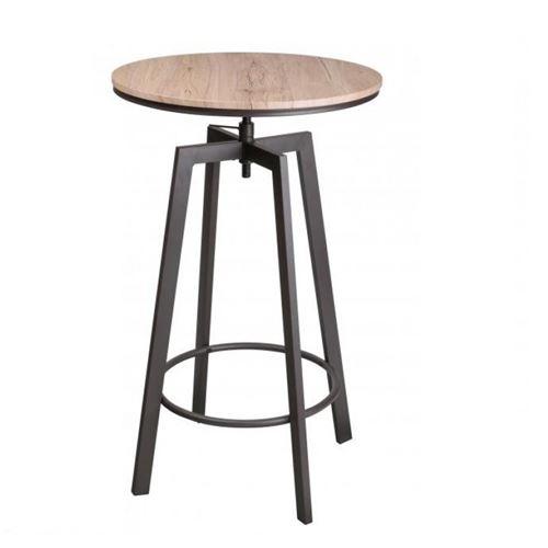 Table haute Chicago hauteur réglable